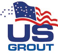 US Grout logo - cementitious ultrafine grout